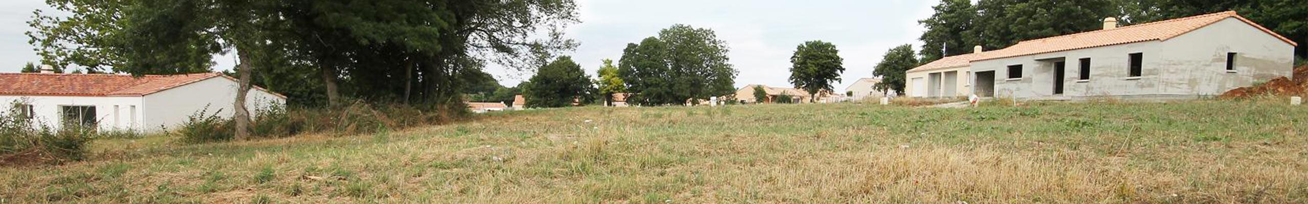 Terrain en vente Champ Saint Pere